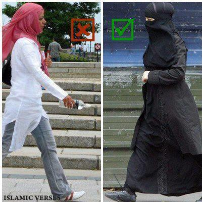 Never judge a Muslimah by her veil!